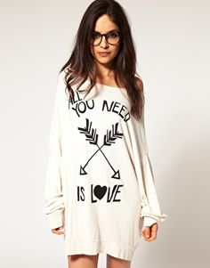 wildfox- the coziest, most comfortable material -you will never want to take it off.