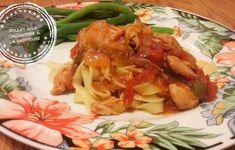 Inspiration italienne Archives – Au bout de la langue Chow Mein Au Poulet, Slow Cooker Recipes, Crockpot, Cabbage, Pizza, Chicken, Meat, Vegetables, Cooking