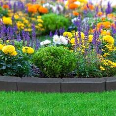 Stomp Edge Rubber Edging Slate 18m on Sale | Fast Delivery | Greenfingers.com