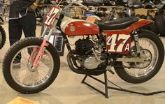 bultaco motorcycles | This 1974 Bultaco Model 123 flat track race bike is unrestored and ...