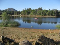 Campground: Lake Cuyamaca, CA...this place has awesome hiking trails