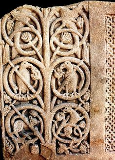 Jedburgh Abbey, Anglo-Saxon Tree of Life