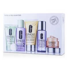 Clinique - Kit Exclusivo: DDLM Plus 50ml + All About Eyes 15ml + Liquid Soap 30ml + Clarifying Lotion #2 60ml + Makeup Remover 50ml | Strawberrynet Brasil