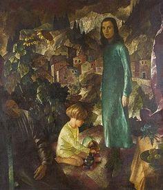 Familie des Künstlers  - Oswald Poetzelberger