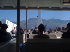 Pronti a partire da Formia per raggiungere il sole e il mare di Ventotene... (giugno 2013)