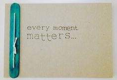 """""""every moment matters"""" notebook - all@uia"""