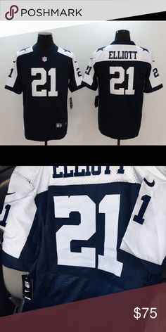 Nike 2XL men's Dallas cowboys stitched jersey ❗️BRAND NEW ❌ NO OFFERS ACCEPTED ❌NO FREE SHIPPING ❌NO CANCELLATIONS  ❗️ADDRESS ALL QUESTIONS BEFORE PURCHASE ❤️SHIPS SAME DAY Nike Tops Tees - Short Sleeve