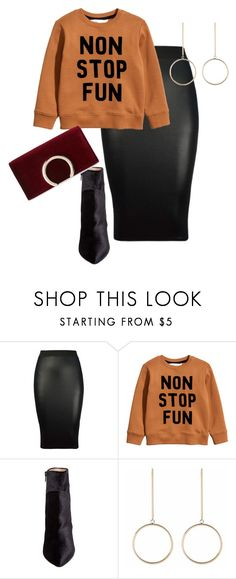 """Love A Cute Sweater/Plus"" by xtrak ❤ liked on Polyvore featuring H&M, Betsey Johnson and Jessica McClintock"
