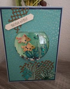 Mandys Bastelwerkstatt – Stempeln mit voller Leidenschaft Mandy's craft workshop – Stamping with full passion This image has get Christmas Snow Globes, Diy Snow Globe, Homemade Christmas Cards, Homemade Cards, Diy Christmas, Card Making Tutorials, Making Ideas, Stampin Up, Globe Crafts