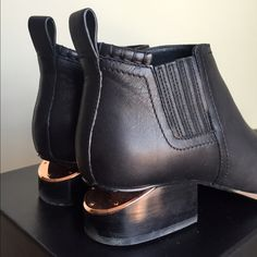 Alexander Wang Kori Boots, rose gold Got these last week, worn twice! True to size. Very minor scuffing on soles, otherwise perfect condition. Original packaging, box, and dustbag included. Alexander Wang Shoes Ankle Boots & Booties