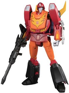 Transformers Takara Masterpiece Collection Hot Rodimus >>> Check this awesome product by going to the link at the image.Note:It is affiliate link to Amazon.
