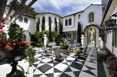 La Jolla Residence, CA USA -  was patterned after 'La Fenice' opera house in Venice, Italy.