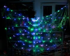 LED Wings of Isis for belly dance.