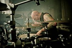 Machine Head's drummer - David McClain