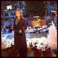 Lookin' good, Savannah! #RockCenterXMAS