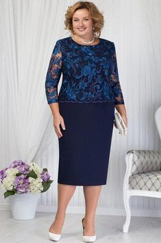 20 Plus Size Outfits You Need To Try – Fashion New Trends – Style is art Mom Dress, Lace Dress, Chiffon Dresses, Modest Fashion, Fashion Dresses, Dress Suits, Pant Suits, Evening Dresses Plus Size, Elegant Outfit