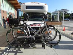 NCTPA generously provided 2 buses, one for the Napa contingent, and one for the bikes and other stuff we took along.