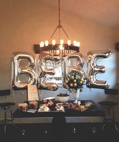 Festive black & white baby shower by Mindy Gayer