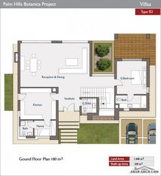 Stunning villa for sale in Palm Hills Modern Architecture House, Residential Architecture, Architecture Design, 2 Storey House Design, Duplex House Design, Sims House Plans, House Floor Plans, Home Building Design, Building A House
