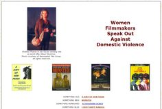 """Read my article, """"Women Filmmakers Speak Out Against Domestic Violence,"""" for The Women's Papers."""
