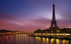 Paris, France:   Boat ride along the Seine is a must.