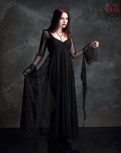 One of my favorite designers. I love this. Romantic Gothic Dress: Juliet Gown by Rose Mortem