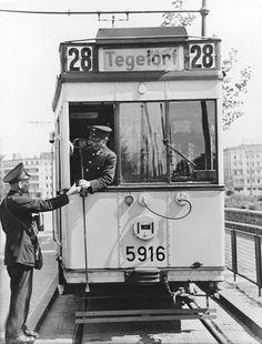 Linie 28 nach Tegelort1940