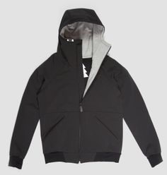 The big brother of the F(estival)-Hoody came straight from the North Pole. The soft shell material combining with unique tailori. Unique Fashion, Mens Fashion, Leather Label, Softshell, Winter Collection, Nike Jacket, Raincoat, Pullover, Hoodies