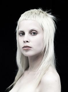 Yolandi Visser of Die Antwoord. Her beauty and attitude is so different and unique