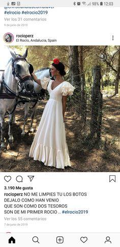 Flamenco Costume, Casual Outfits, Flower Girl Dresses, Costumes, Wedding Dresses, Pretty, Folklore, Spanish, Graduation