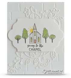 SNEAK PEEK: Going to the Chapel Card from the In the City Stamp Set | Stampin Up Demonstrator - Tami White - Stamp With Tami Crafting and Card-Making Stampin Up blog