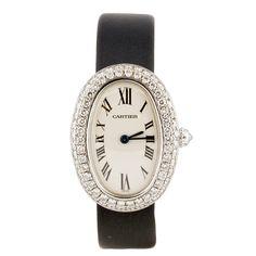 Cartier - CARTIER BAIGNOIRE Diamond White Gold Women's