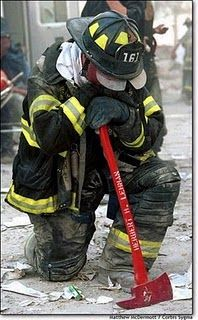 God Bless him, please.  God Bless the Firemen's Families!  God - Please Bless America this November!