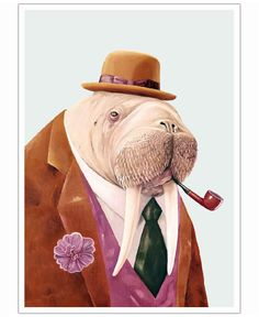 Walrus VON Animal Crew now on JUNIQE!