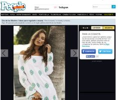 PilyQ Swimwear cover-up on People En Espanol.com Mother's Day Gift Guide!  http://www.peopleenespanol.com/gallery/dia-de-las-madres-35-ideas-para-regalarle-mama#741796_741881