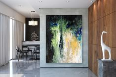 Large Abstract Painting,Large Abstract Painting on Canvas,texture art painting,original abstract,livingroom decor art FY0067