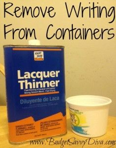 Remove Writing From Containers!!!!!