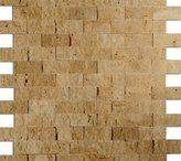 Travertine Mosaic and Travertine Mosaics are available in different finishes including: tumbled travertine, honed travertine, travertine tile, split face travertine, travertine mosaic Marble Mosaic, Stone Mosaic, Stone Tiles, Travertine Tile, Mosaics, Natural Stones, Gallery, Wood, Face