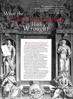 I'm not at all a card-carrying member of the KJV Bible Only Society, but this compelling essay about the beauty of the Authorized King James Version in The Classical Teacher, the catalog of Memoria Press, persuaded me of the virtues of reading King James Bible alongside other translations.
