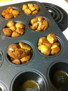 Mini monkey bread, great and simple treat for college students
