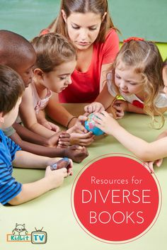 KidLit TV Supports the need for more diverse books in children's literature. Here's our Pinterest Board where we share resources for Diverse Books. #weneeddiversebooks