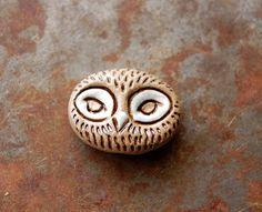 Gaea Ceramic Bead and Art Studio Blog: Ceramic Owl Bead