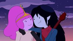 Bubbline, Watch Adventure Time, Marceline And Princess Bubblegum, Adventure Time Wallpaper, She Ra Princess Of Power, Cute Cartoon Wallpapers, Owl House, Cute Gay, Concert Posters