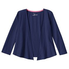 Toddler Girl Jumping Beans® Open Front Cardigan, Size: 3T, Blue
