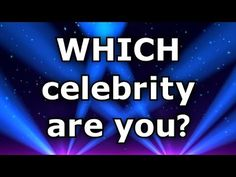 ✔ Famous People: What Celebrity Are You? I got Taylor Swift Yeah!