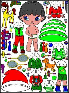 Elf - paper dolls - Мария Мальцева - Picasa Web Albums