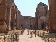 Roma y las termas de Caracalla