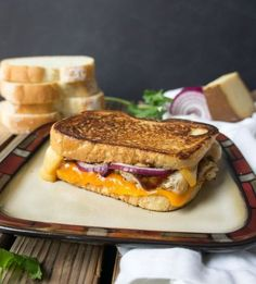 BBQ Chicken Grilled Cheese Sandwich Booyah Recipe, Pappardelle Recipe, Grilled Bbq Chicken, Chicken Taquitos, Wrap Sandwiches, Burger Recipes, Different Recipes, Cravings, Food To Make