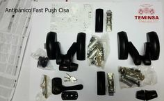 Como montar barra antipanico Fash Push