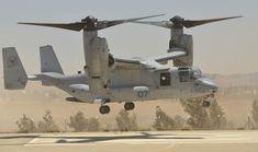 US Marine Corps MV-22 Osprey.